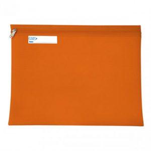 Bantex Book Bag Landscape With Zip – Orange