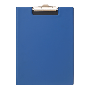 Bantex A4 PVC Folding Clipboard – Blue