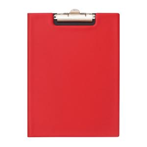 Bantex A4 PVC Folding Clipboard – Red