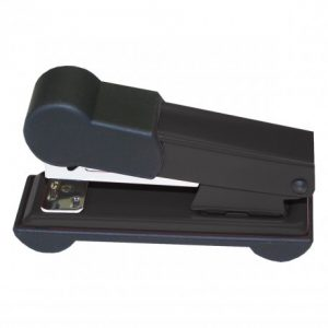 Bantex Home Metal Stapler Half-Strip 25 Sheet – Black