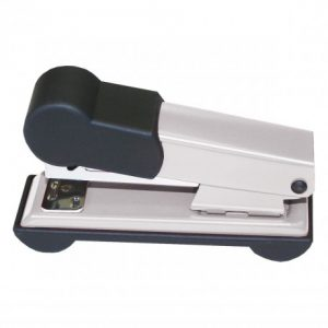 Bantex Home Metal Stapler Half-Strip 25 Sheet – Silver