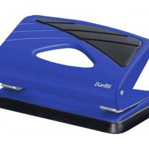 Bantex Small Home Metal Punch 10 Sheet – Cobalt Blue