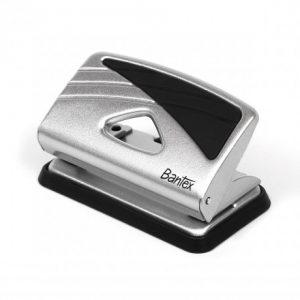 Bantex Small Home Metal Punch 10 Sheet – Silver