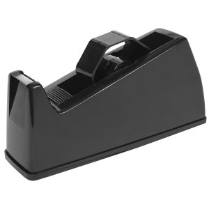 Bantex Moulded Plastic Tape Dispenser – Black