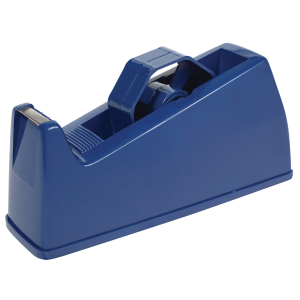 Bantex Moulded Plastic Tape Dispenser – Blue