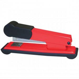 Bantex Office Metal Stapler Half-Strip 30 Sheet – Red