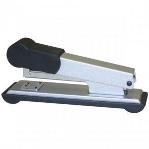 Bantex Office Metal Stapler Half-Strip 30 Sheet – Silver