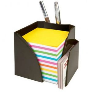Bantex Optima Memo Cube Assorted – Rainbow Paper