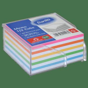 Memo Half Cube Refill – Rainbow