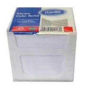 Bantex Memo Cube Refill – White