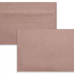 LEO C6 Envelopes Manilla No-Window Self-Seal (Box 500)