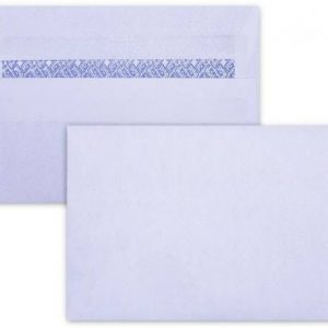 LEO C6 Envelopes White No-Window Self-Seal Pocket (Box 500)