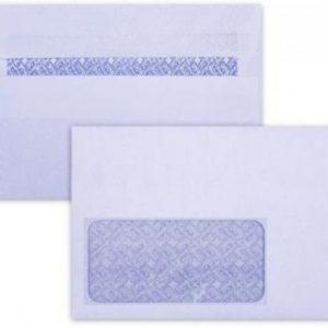 LEO C6 Envelopes White Window Self-Seal (Box 500)