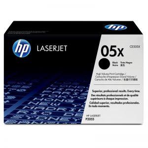 HP 05X Black Original High Yield Toner Cartridge – CE505X
