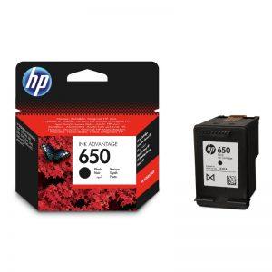 HP 650 Black Original Ink Cartridge – CZ101AE