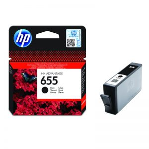 HP 655 Black Original Ink Cartridge – CZ109AE