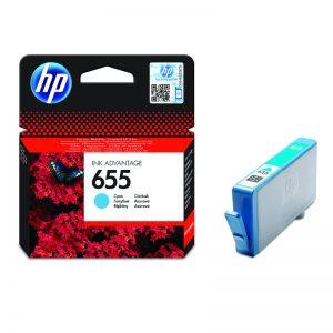 HP 655 Cyan Original Ink Cartridge – CZ110AE