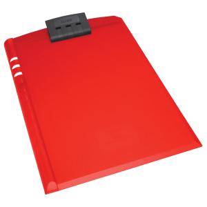 Bantex A4 Moulded Plastic Clipboard – Red