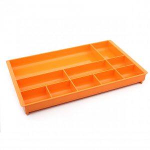 Bantex Desk Organiser 10 Compartment – Fashion Orange