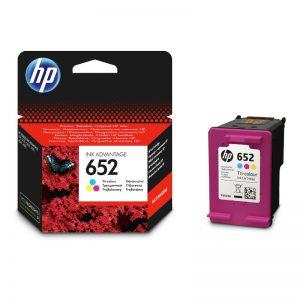 HP 652 Tri Colour Original Ink Cartridge – F6V24AE