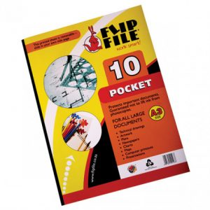 Flip File Kangaroo A3 Display Book – 10 Pockets