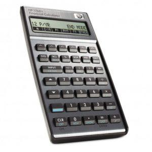 HP 17bII+ Business Calculator