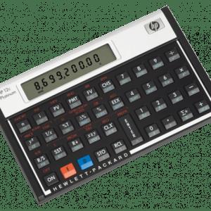 HP 12c Platinum Financial Calculator (RPN/Alg)