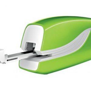 Leitz NeXXt WOW 5566 Electric Stapler Battery-Powered Green – 10 Sheet