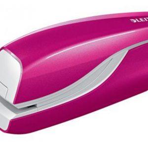 Leitz NeXXt WOW 5566 Electric Stapler Battery-Powered Pink – 10 Sheet