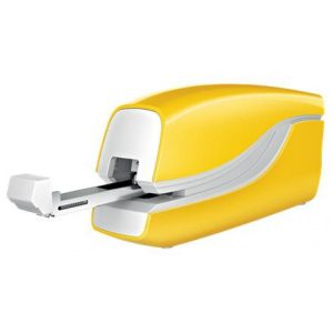 Leitz NeXXt WOW 5566 Electric Stapler Battery-Powered Yellow – 10 Sheet
