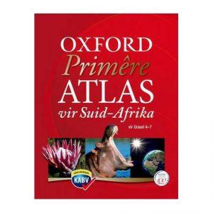 Oxford Primêre ATLAS Vir Suid-Afrika Vir Graad 4 – 7