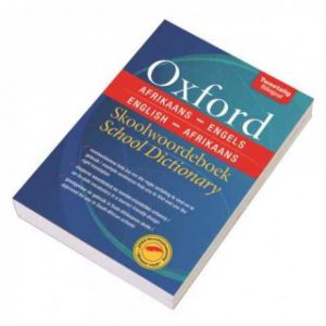 Oxford Afrikaans-Engels School Dictionary Isbn 9780199054688
