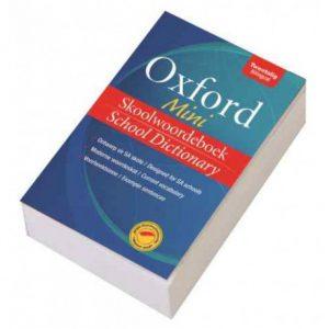 Oxford Mini Skoolwoordeboek/School Dictionary (English, Afrikaans, Paperback)