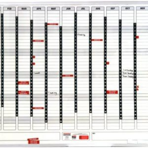 Parrot Perpetual Year Planner 1500 X 1200mm (Magnetic)