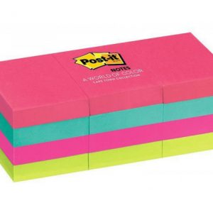 Post-It Notes Pad 38 X 50mm (12 Pads)