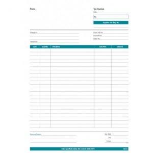 RBE NC A4 Triplicate Invoice Pad