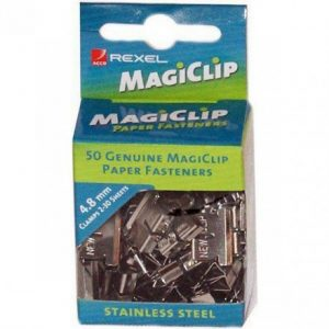 Rexel Magiclips 4.8mm – Box 50