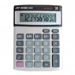 SDS 260 Desktop Calculator 10 Digit