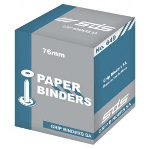 SDS Paper Binder 75mm No 649 – 100s