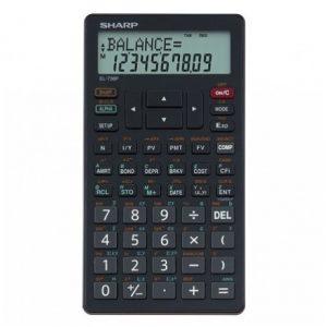 Sharp EL738 12D Finance Calculator