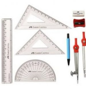 Faber Castell Geometry Sphere Mathematical Set – 9 Piece