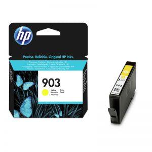HP 903 Yellow Original Ink Cartridge – T6L95AE