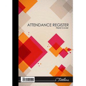 Treeline Attendance Register A4 Hard Cover