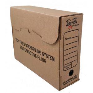 Tidy Files A4 Archive Box (Kraft)