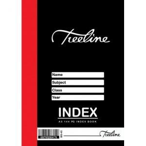 Treeline Index Book A5 – 144 Page