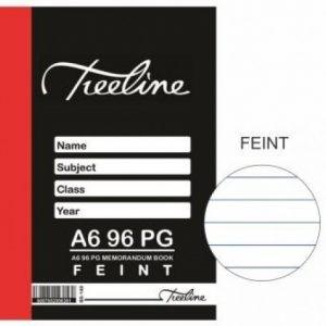Treeline Memorandum Book A6 – 96 Page Feint