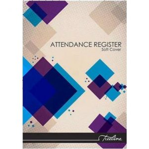 Treeline Attendance Register A4 Soft Cover