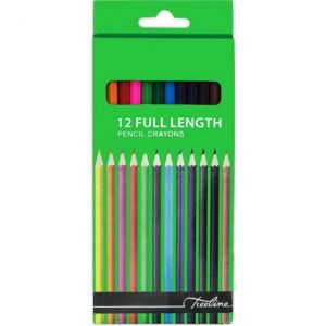 Treeline Colouring Pencils Full Length 12s