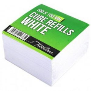 Treeline Memo Cube Refill – White