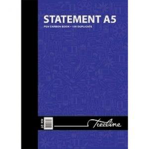 Treeline Pen Carbon Book Statement Duplicate A5
